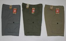 NEW MENS DOCKERS CARGO SHORTS NWT VARIOUS SIZES & COLORS (GRAY,BEIGE,GREEN)