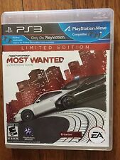 Need for Speed: Most Wanted -- Limited Edition (PlayStation 3, 2012)used