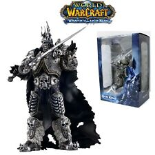 FIGURA WORLD OF WARCRAFT - ARTHAS THE LICH KING WOW FIGURE 18cm BOX/CAJA.