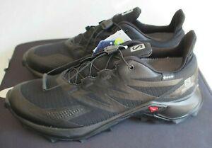 Salomon Mens Supercross Blast GTX Trail Running Shoe - Black
