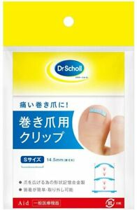 Dr Scholl clip for ingrown toenail caring toenail curve S M L Select Size Japan