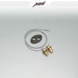 SME 3009 3012 tonearm Xad gold plated RCA phono socket CONVERTER