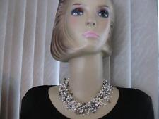 Tiffany & Co. Iridesse Gray ~White~Black Purple Pearls Torsade Necklace
