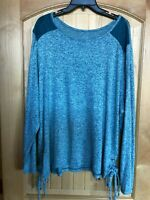 Womens St. John's Bay Long Sleeve Pullover Top 3X