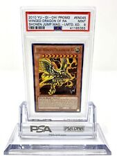 The Winged Dragon Of Ra - JUMP-EN045  - PSA 9 Ultra Rare MINT YuGiOh