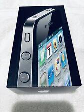 Apple iPhone 4 AT&T 16GB Smartphone A1332 (GSM) MC318LL/A IOS 7.1.2 Black