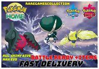 Pokemon Sword Shield REGIDRAGO & REGIELEKI CALYREX PREORDER 6IV FAST DELIVERY