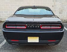 2015-2018 Dodge Challenger G Series Notched Spoiler with Camera Hole Unpainted