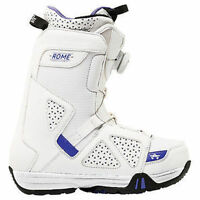 ROME SDS STOMP BOA WHITE PURPLE 2015 WOMENS SNOWBOARD BOOTS SNOW AUSTRALIA