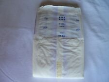 RARE! Tena Slip Maxi Large Plastic Adult Diaper Brief Imported Comfy Sample 1pc