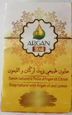 Natural Soap with Argan & Lemon
