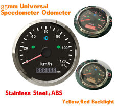 85mm Car GPS speedometer 125km/h Odometer for motorbike  IP67 3 3/8'' INCH