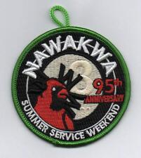 OA Nawakwa Lodge 3 Activity Patch, 2014 Sum. Service Weekend Green Brd (eR2014?)