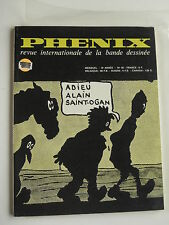 French Comic Magazine (Classic Commentary & Art)  PHENIX #40 - 1974