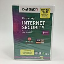 NEW | 2014 Kaspersky Internet Security | Premium Protection | 3 Devices | PC MAC