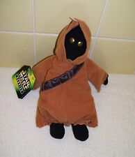 "STAR WARS Buddies Kenner Hasbro, Inc. 1997 JAWA 8"" Action Figure Beanbag Toy NWT"