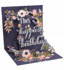 3D Pop-Up Greeting Birthday Card ~ Birthday Wreath
