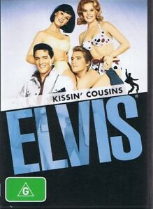 KISSIN' COUSINS - An Elvis Presley DVD NEW & SEALED Free Post