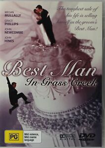 Best Man In Grass Creek DVD - Megan Mullally - Free Post