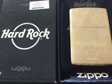 Zippo BRASS HARD ROCK CAFE MIAMI GUITAR