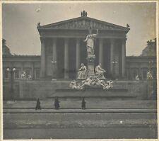 Vienne Wien Autriche 12 Photos Snapshot Vintages Argentiques 1907