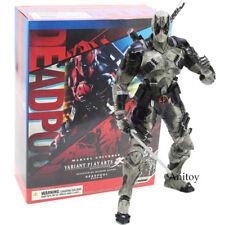 Marvel Play Arts Kai Deadpool Grey Edtion PVC Action Figure Model Toy