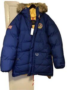 Polo Ralph Lauren Alaskan Reversible Expedition Parka XL $598 Retail