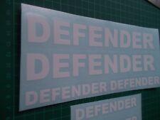 LAND ROVER DEFENDER 90 110 130  Text Sticker Decal set x6