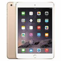 Apple iPad mini 3 64GB,  Wi-Fi  , 7.9in - Gold Bad Condition