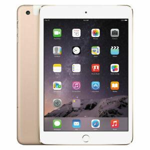 Apple iPad mini 3 64GB,  Wi-Fi  , 7.9in - Gold