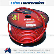 STINGER 4 AWG GAUGE RED AMPLIFIER POWER CABLE WIRE SPW14TR