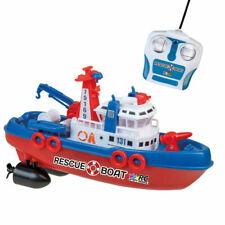 RC Boot Rettungsschiff Seenotrettung ferngesteuert 27Mhz Feuerwehrboot RTR NEU