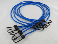5 pcs BUNGEE HOOK LENGTH - TARPAULIN BUNGEE STRETCH CORD STRAPS with METAL HOOKS