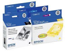 Genuine Epson 43 44 Ink Cartridge 4-Pack for Stylus C84, C86, CX6400, CX6600