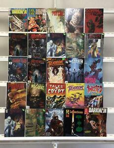 Horror Werewolf By Night The Strain  Nosferatu Eternity Marvel  25 Lot Comic