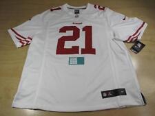 NIKE SAN FRANCISCO 49ERS FRANK GORE TANK 21 ON-FIELD FOOTBALL JERSEY WHITE XL