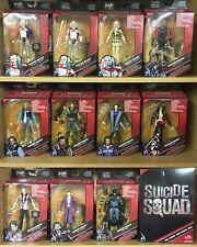 Suicide Squad DC Multiverse Lot Complete Harley Joker Batman SDCC Mattel NEW Baf