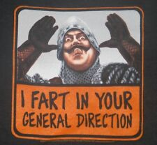 Monty Python & The Holy Grail French Fart T-Shirt Size Large, New Unworn