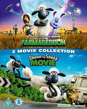 Shaun the Sheep 2 Movie Collection [2019] (Blu-ray) Justin Fletcher, Joe Sugg
