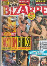BIZARRE MAGAZINE, THE WORLD # 1 ALTERNATIVE  MAGAZINE, SEPTEMBER, 2012   NO. 192