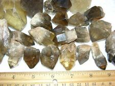 Citrine crystal Congo,Africa all natural 1/4 pound lot 1-2 inch 2-7 piece