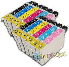 12 t0791-t0796' búho' Los Cartuchos De Tinta Compatible No Oem Con Epson Stylus px800w