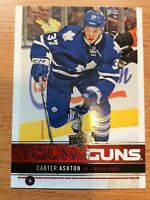 UPPERDECK 2012-2013 SERIES ONE CARTER ASHTON YOUNG GUNS ROOKIE HOCKEY CARD #247