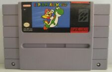 Super Mario World for Super Nintendo SNES Cart Only Authentic Clean & Tested