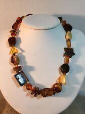 Multi Shape Baltic Amber Necklace