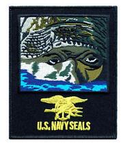 "U.S. Navy Seals 4-1/8"" X 5"" sew on high quality patch/ EMBLEM GIFT?"