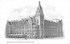 BR64680 caledonian railway company s central station hotel glasgow   scotland