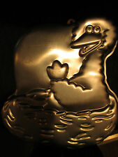 1989 WILTON BIG BIRD ON NEST CAKE PAN APPROX 12 X 12 BOY OR GIRL BIRTHDAY .