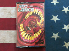 Vio-Lence Eternal Nightmare 1988 cassette tape in case rare tested works