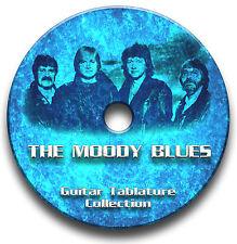 The Moody Blues Prog Rock Guitar Tab Tablature Song Book scolarité Logiciel CD